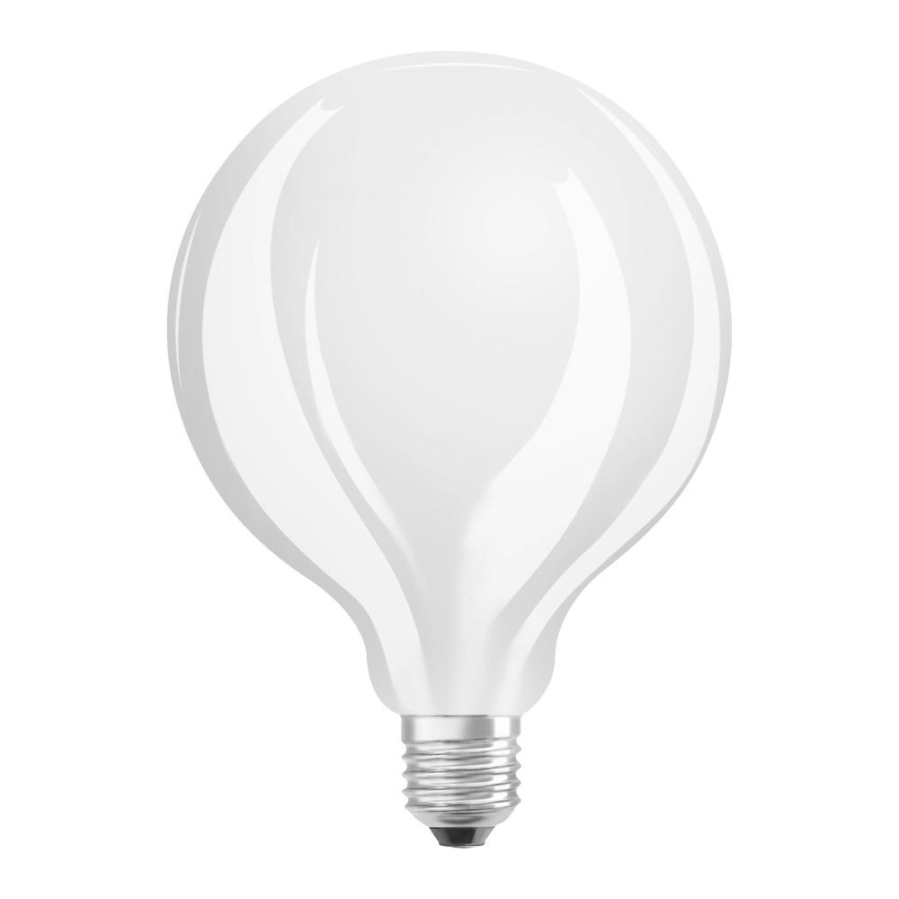 Osram Parathom Retrofit Classic E27 Globe 12W 827 Matt   Dimmbar - Ersatz für 100W