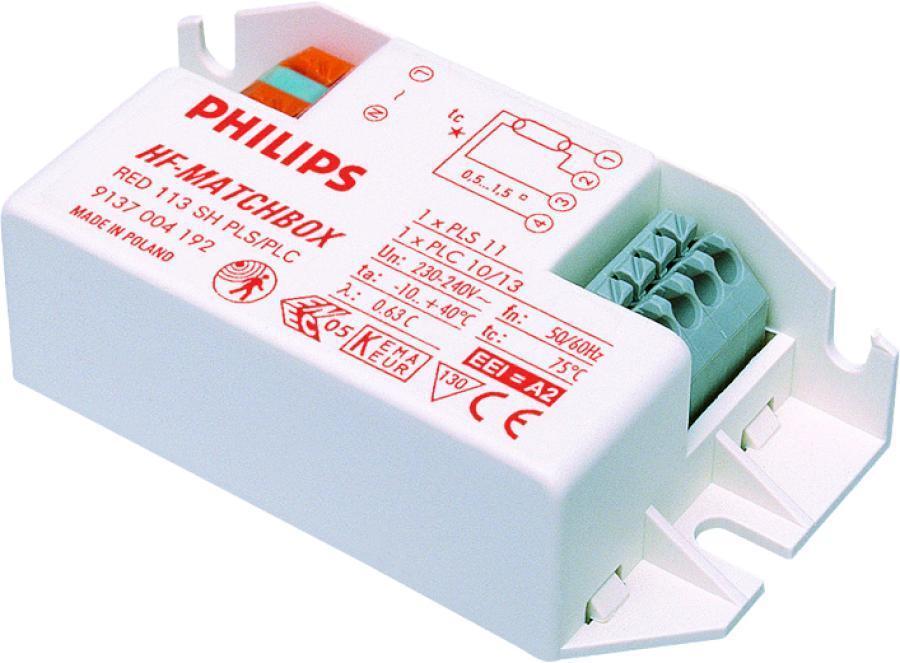 Philips HF-Matchbox Red 109 SH TL/PL-S für 1x9W