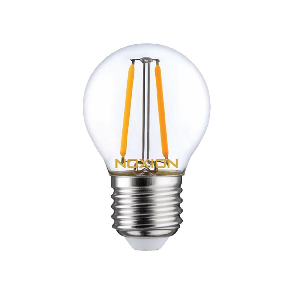 Noxion Lucent LED Lustre E27 2.5W 827 Fadenlampe | Dimmbar - Ersatz für 25W