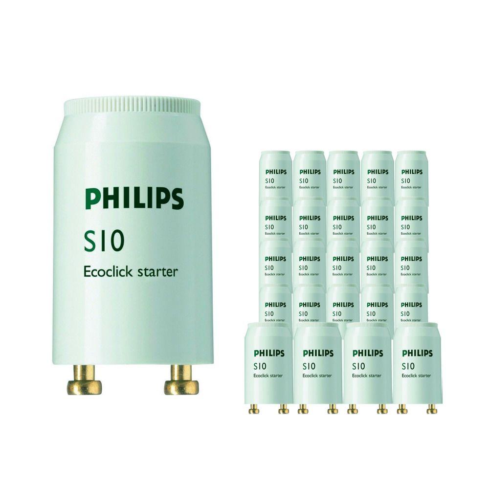 Mehrfachpackung 25x Philips S10 Starter 4-65W SIN