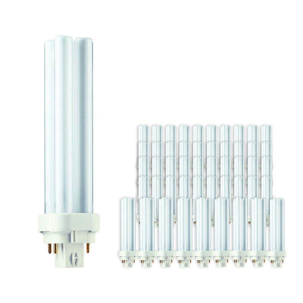 Mehrfachpackung 50x Philips PL-C 18W 830 4P (MASTER) | Warmweiß - 4-Pins
