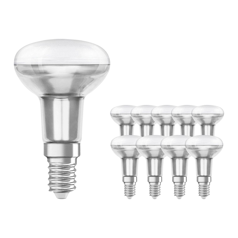 Mehrfachpackung 10x Standard Glühlampe Reflektor E14 R50 25W 230V