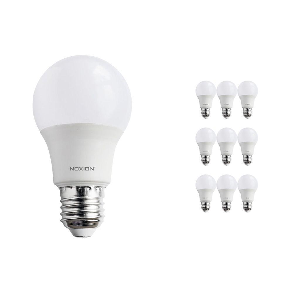 Mehrfachpackung 10x Noxion PRO LED Bulb A60 E27 7W 822-827 Matt | Dimmbar - Extra Warmweiß - Ersatz für 40W