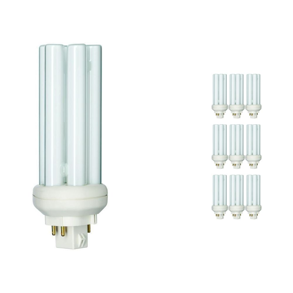 Mehrfachpackung 10x Philips PL-T 26W 830 4P (MASTER) | 4-Pins