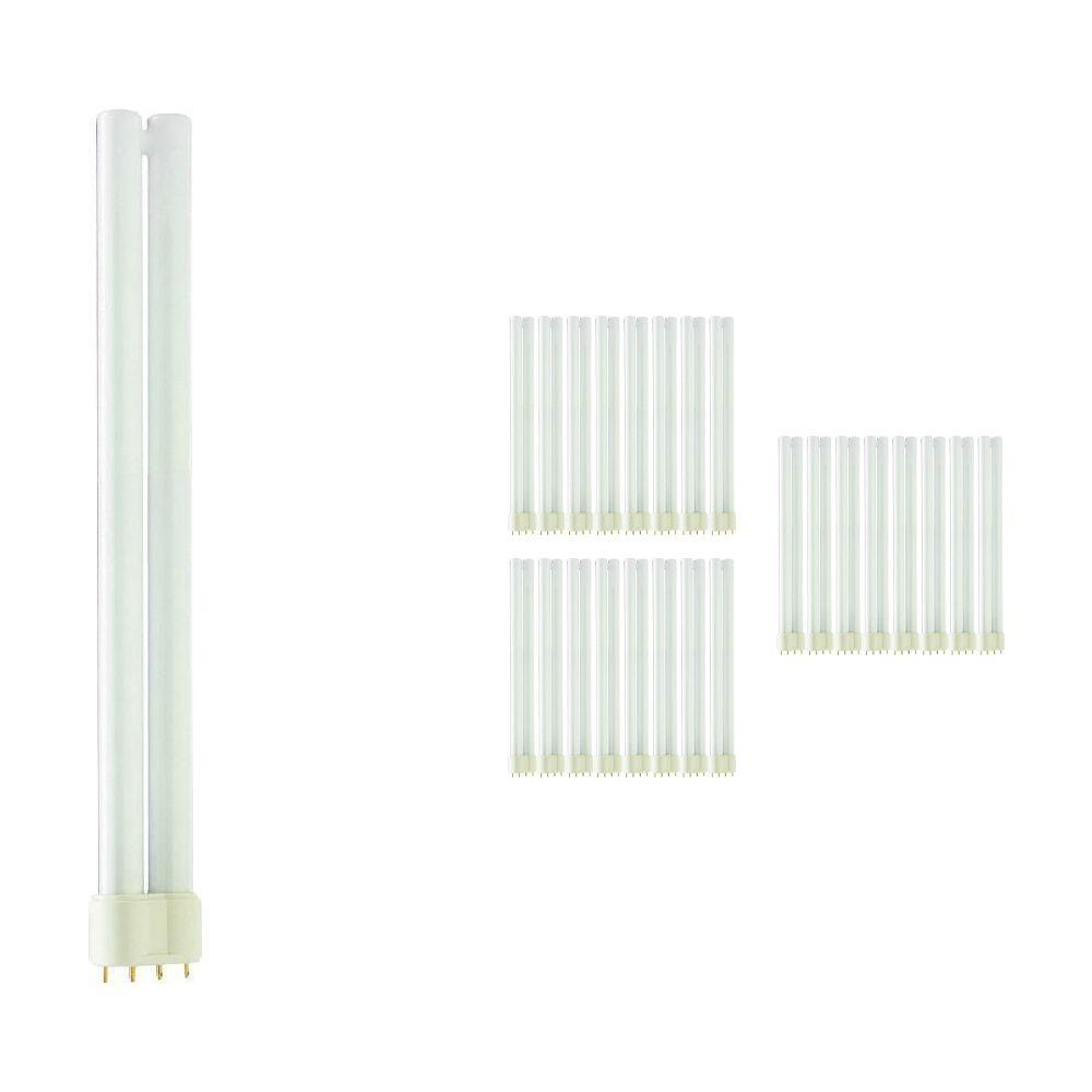 Mehrfachpackung 25x Philips PL-L 24W 840 4P (MASTER) | 4-Pins