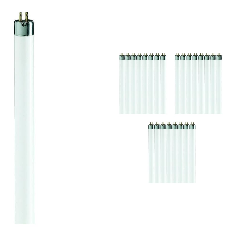 Mehrfachpackung 25x Philips TL Mini 8W 827 Super 80 (MASTER) | 29cm - Extra Warmweiß