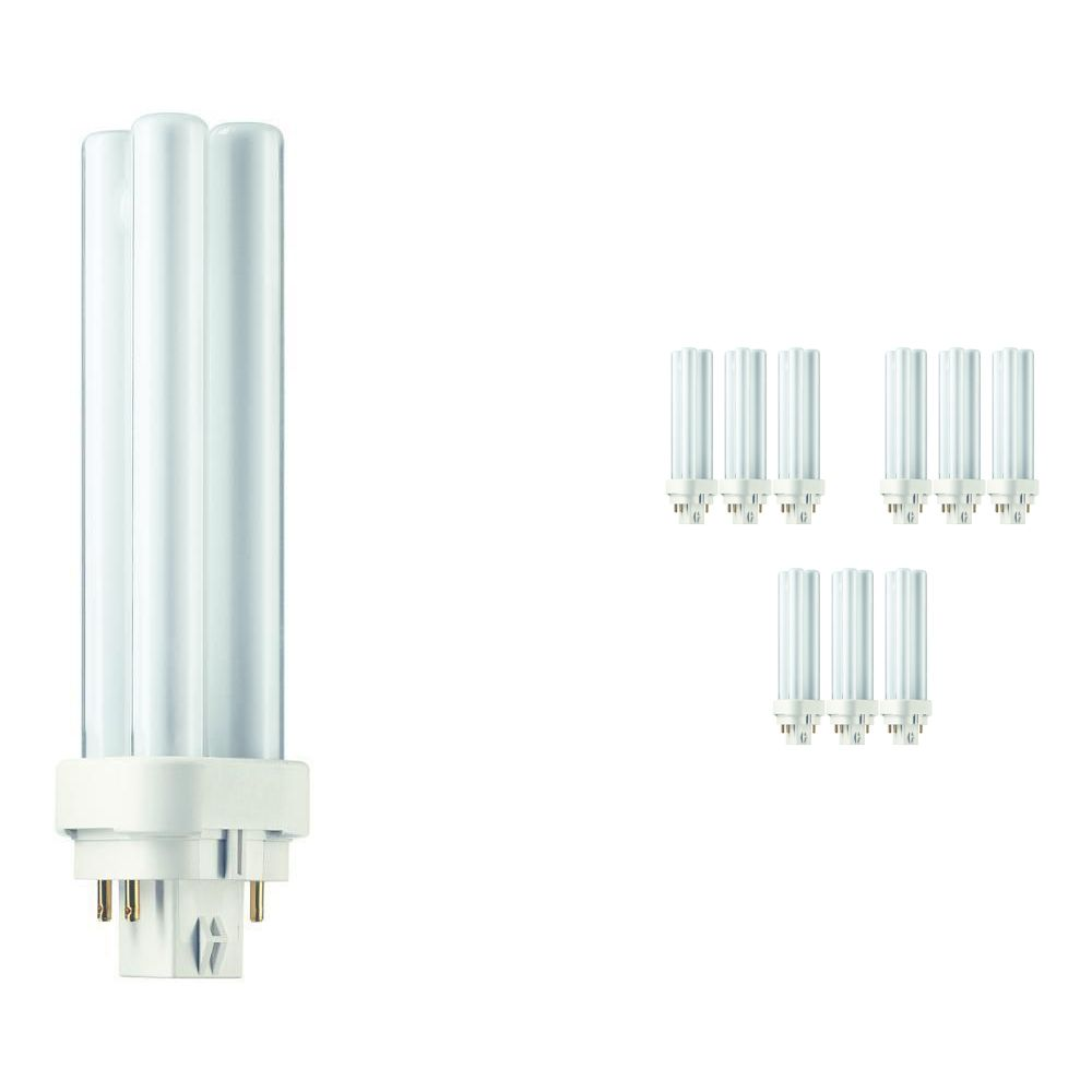 Mehrfachpackung 10x Philips PL-C 13W 840 4P (MASTER) | 4-Pins