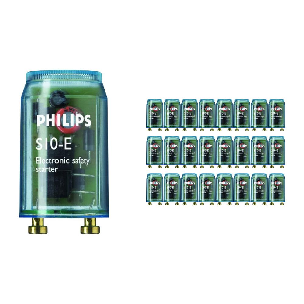 Mehrfachpackung 25x Philips Starter S10E 18-75W SIN 220-240V BL