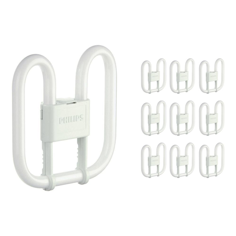 Mehrfachpackung 10x Philips PL-Q 16W 830 2P (MASTER)   2-Pins