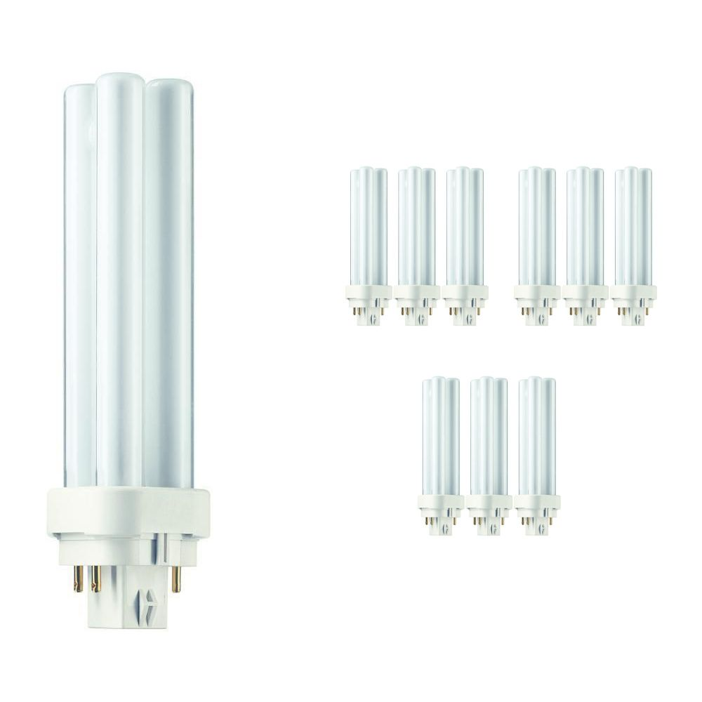 Mehrfachpackung 10x Philips PL-C 13W 827 4P (MASTER) | 4-Pins