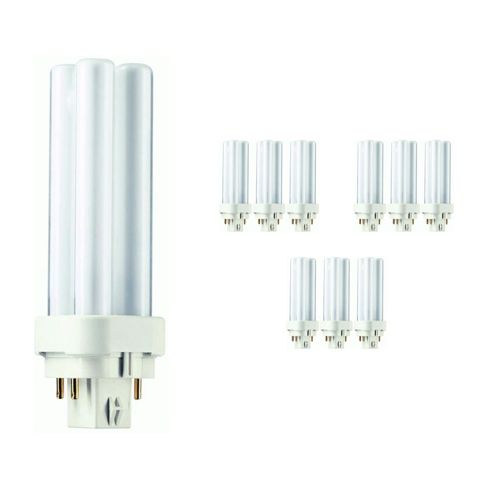 Mehrfachpackung 10x Philips PL-C 10W 830 4P (MASTER)   4-Pins