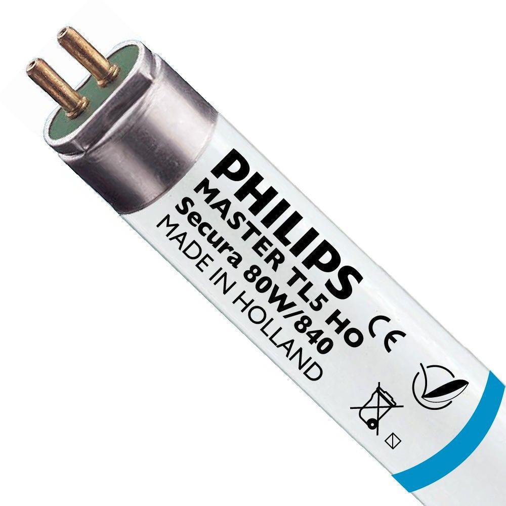 Philips TL5 HO Secura 80W 840 (MASTER) | 145cm - 6550 Lumen