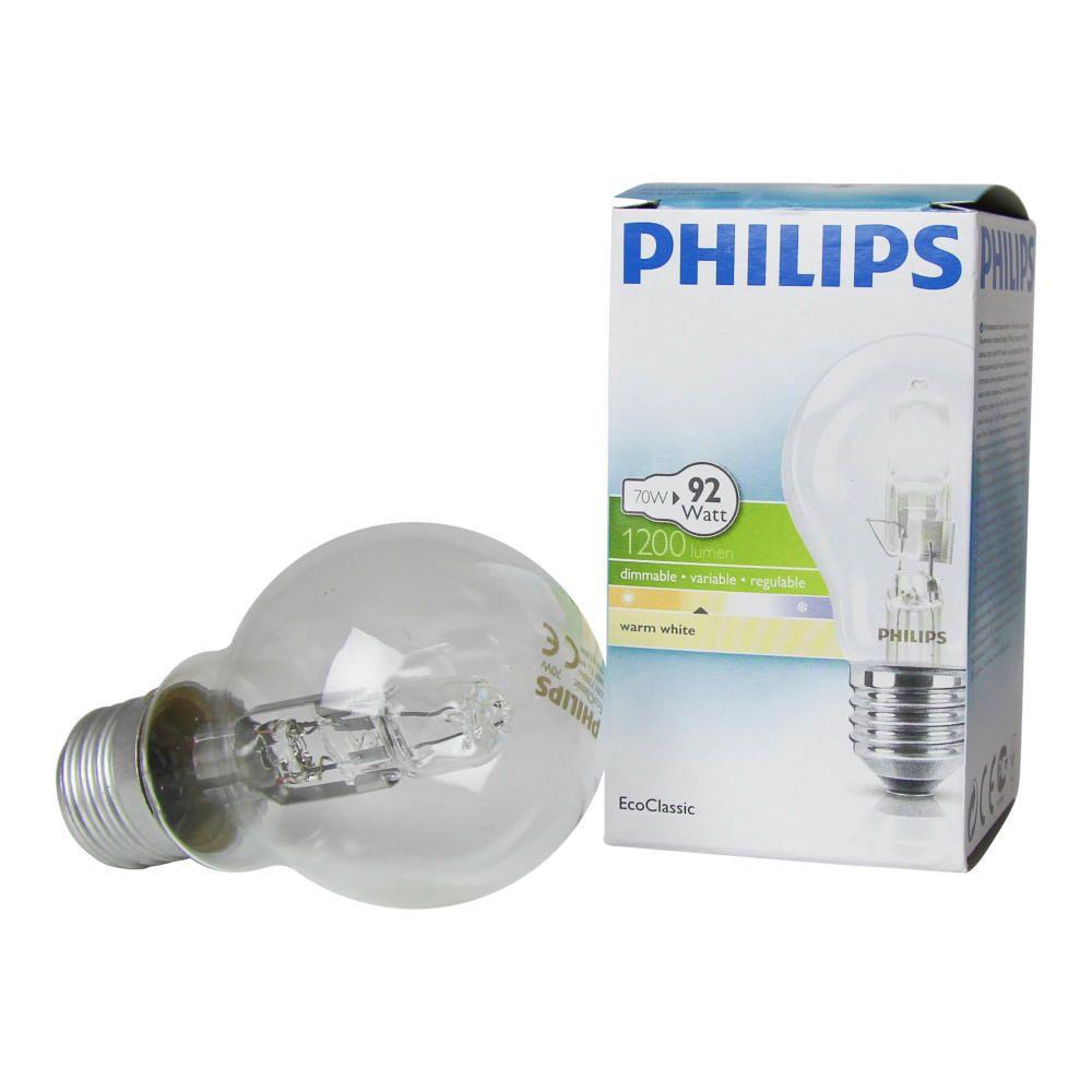 Philips EcoClassic 70W E27 230V A55 Klar