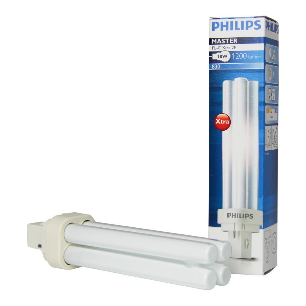 Philips PL-C Xtra 26W 830 2P (MASTER) | 1800 Lumen - 2-Pins