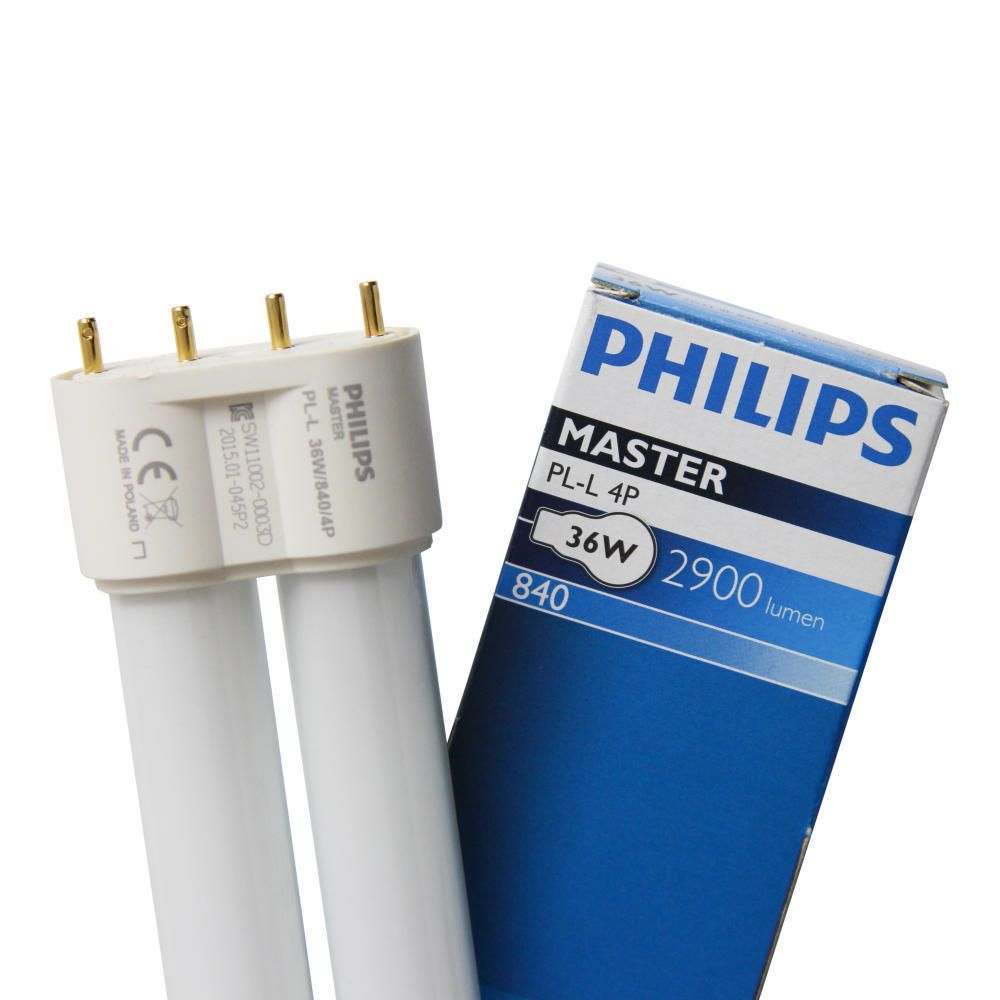 Philips PL-L 36W 840 4P (MASTER)   2900 Lumen - 4-Pins