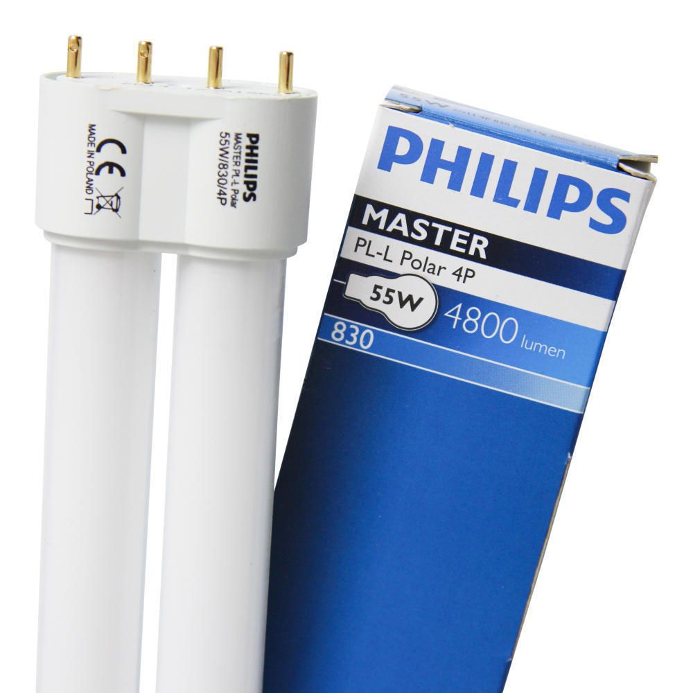 Philips PL-L Polar 55W 830 4P (MASTER) | 4800 Lumen - 4-Pins