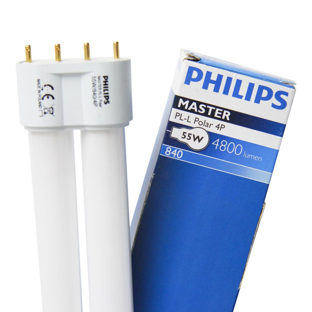 Philips PL-L Polar 55W 840 4P (MASTER) | 4800 Lumen - 4-Pins