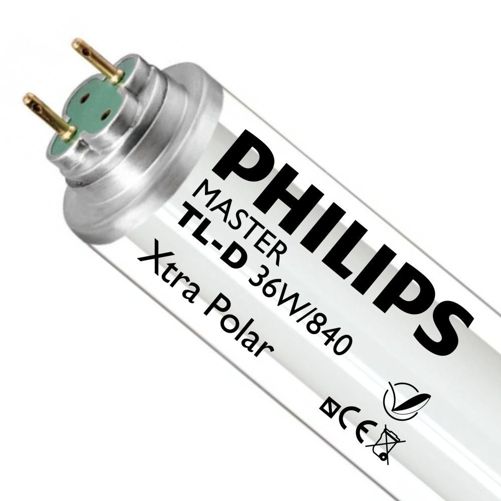 Philips TL-D Xtra Polar 36W 840 (MASTER) | 120cm - 3350 Lumen
