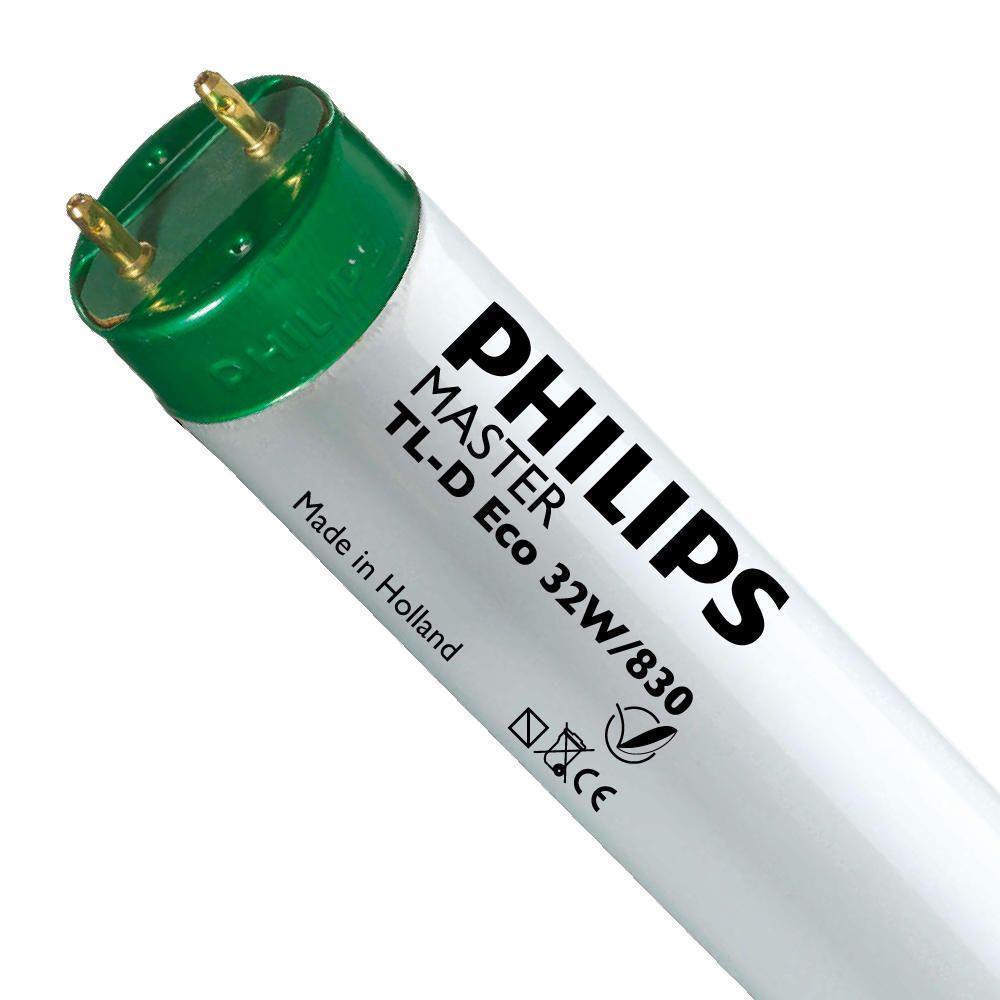 Philips TL-D Eco 32W 830 (MASTER) | 120cm - 3000 Lumen