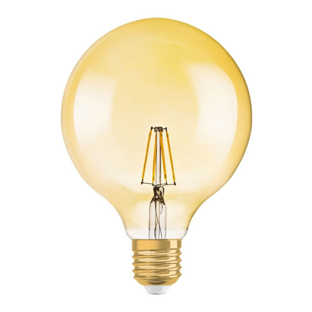Osram Vintage 1906 LED E27 Globe 2.8W 824 Gold | Ersatz für 20W
