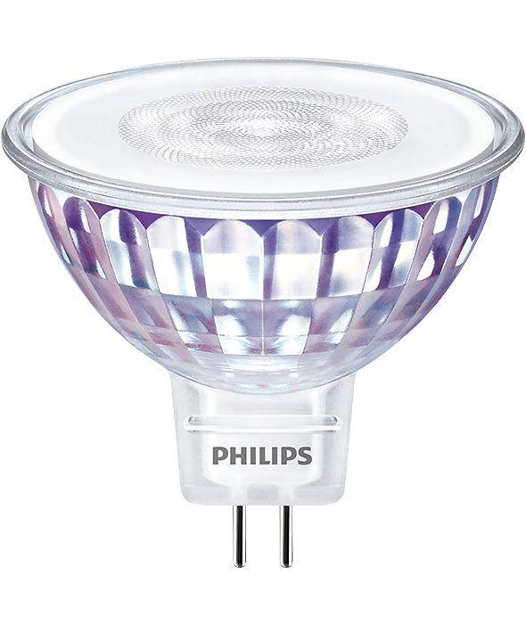 Philips LEDspot VLE GU5.3 MR16 7W 830 60D (MASTER)   630 Lumen - Dimmbar - Ersatz für 50W