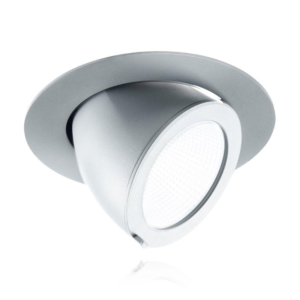 Noxion LED Deckenstrahler Forza 3000K 3000 Lumen 36D Grau | Höchste Farbwiedergabe - Ersatz für 70W CDM