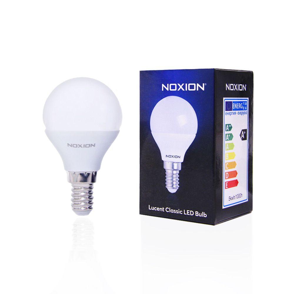 Noxion Lucent LED Classic Lustre 5W 827 P45 E14   Ersatz für 40W