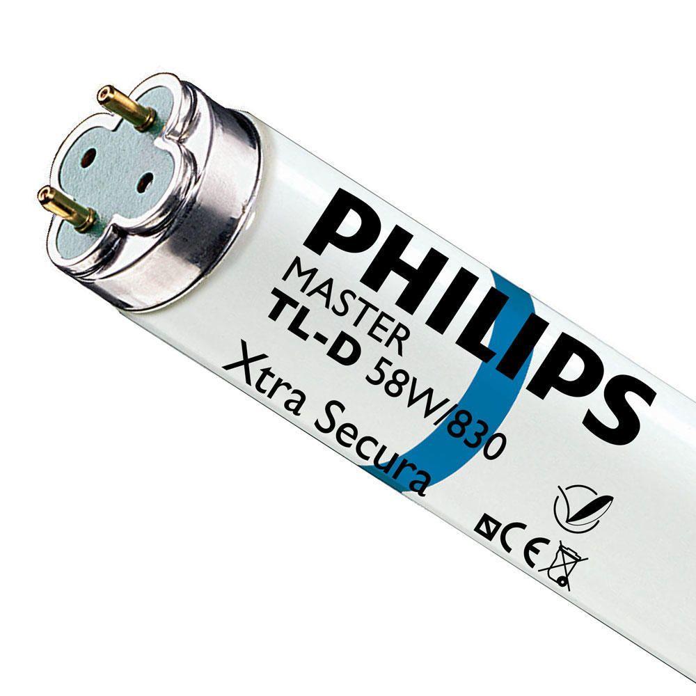 Philips TL-D Xtra Secura 58W 830 - 150cm (MASTER)