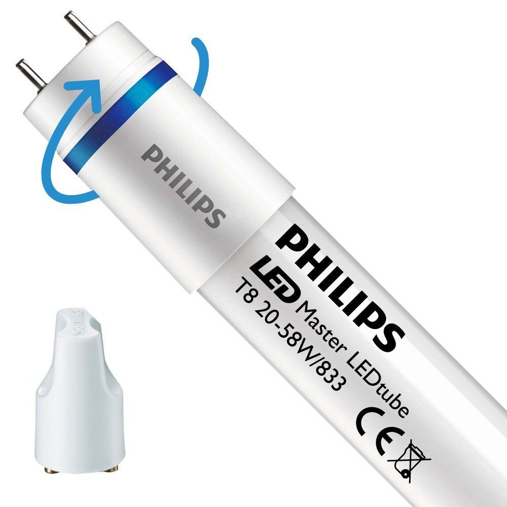 Philips LEDtube EM SO 20W 833 150cm (MASTER) | Food - mit LED-Starter - Ersatz für 58W - Rotierbar