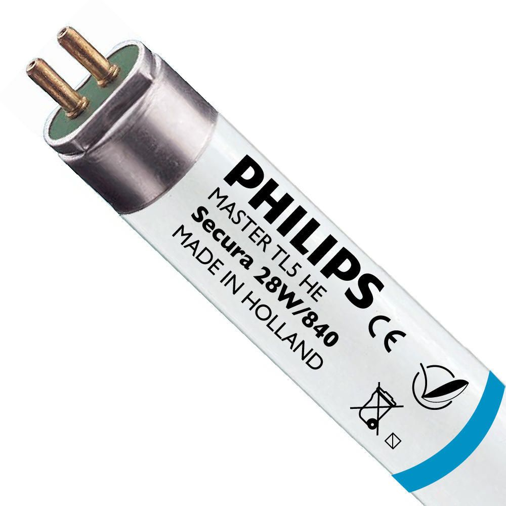 Philips TL5 HE Secura 28W 840 (MASTER)   115cm - 2625 Lumen