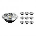 Mehrfachpackung 10x Noxion Lucent LED-Spot AR111 G53 Pro 12V 12W 927 40D  Extra Warmweiß - Höchste Farbwiedergabe - Dimmbar - Ersatz für 50W